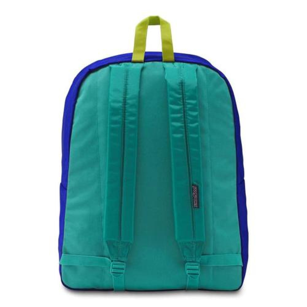 Jansport Exposed Regal Blue/Neon Yellow Sırt Çantası A3C4X4C1