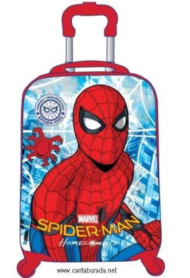 Spiderman Çocuk Kabin Boy Valiz 95729